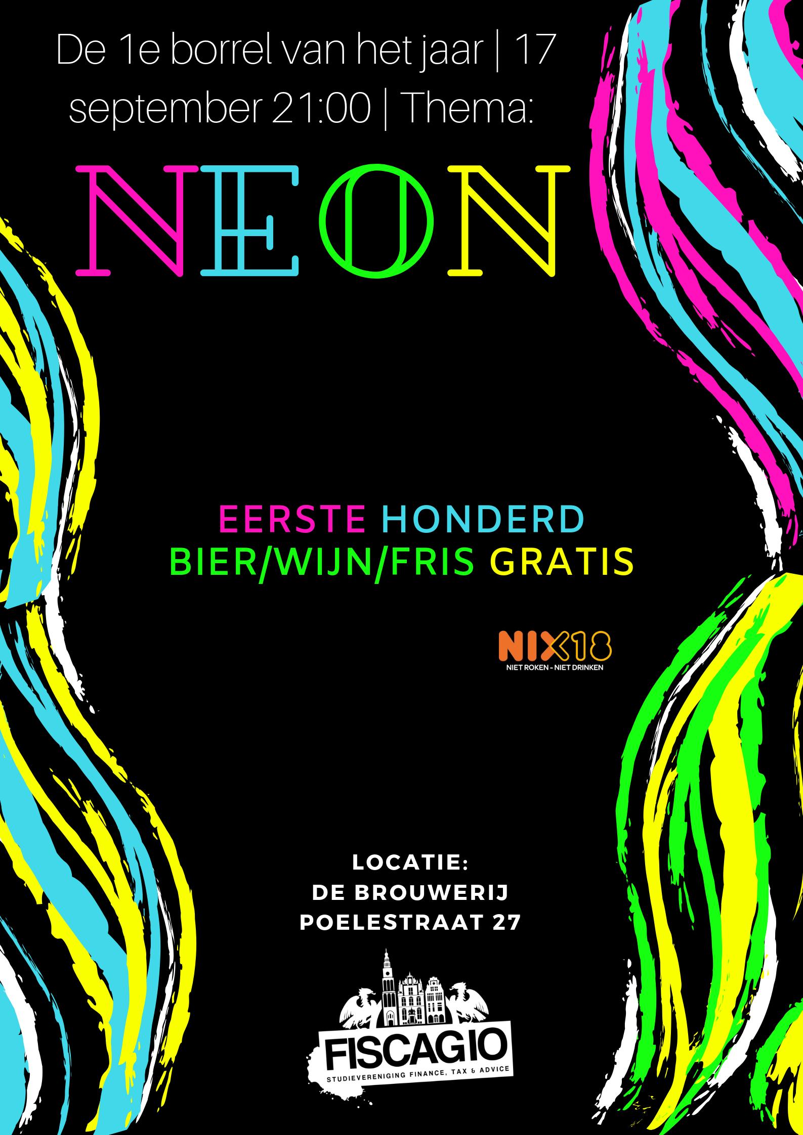 Borrel - Neonparty