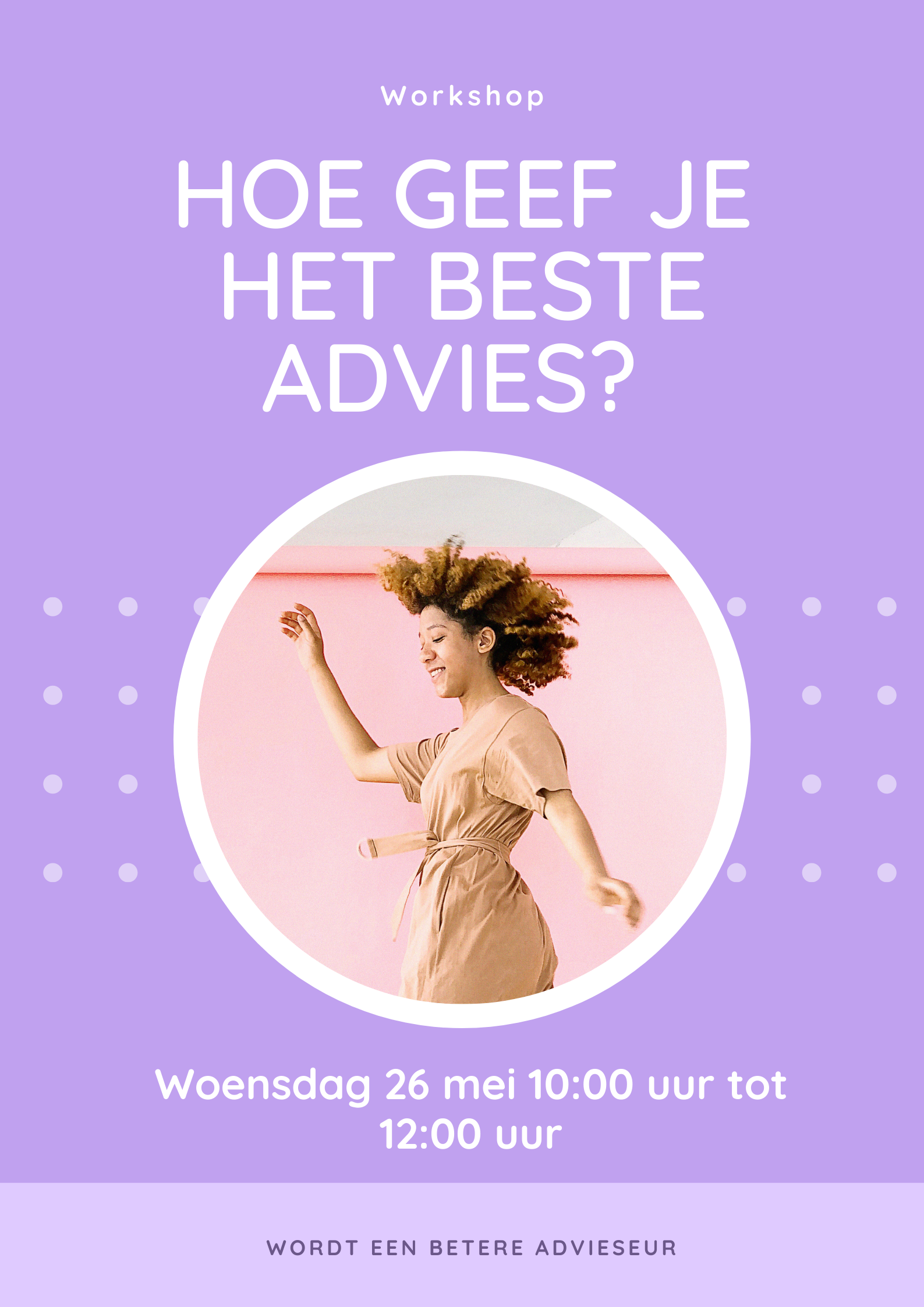 Hoe geef je het beste advies? Workshop
